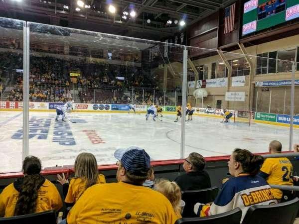 Erie Insurance Arena, vak: 120, rij: D, stoel: 4