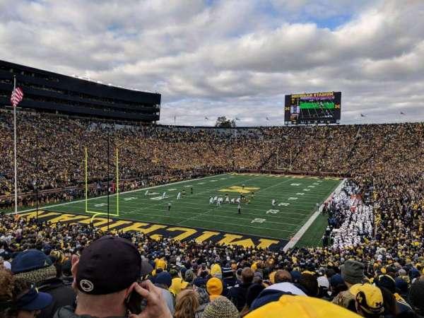 Michigan Stadium, vak: 9, rij: 51, stoel: 5