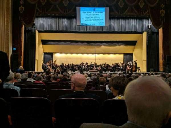 Warner Theatre (Erie), vak: 103, rij: T, stoel: 11