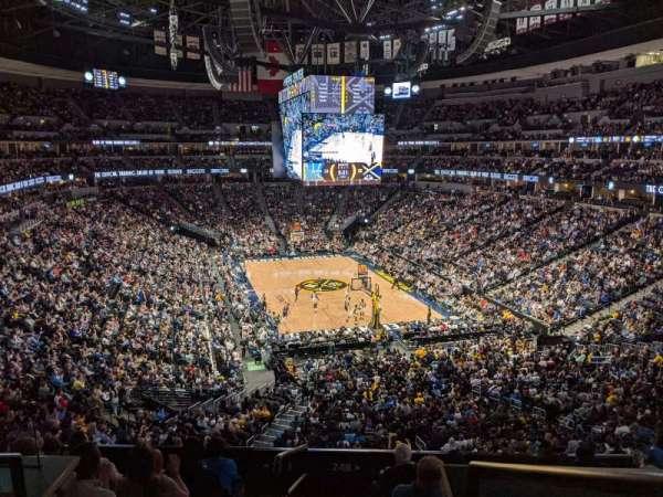 Ball Arena, vak: 248, rij: 1, stoel: 13