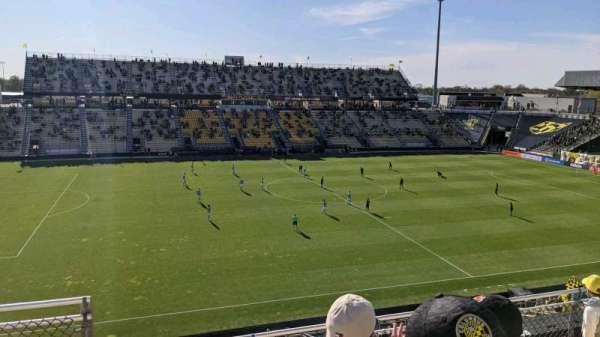 Historic Crew Stadium, vak: 208, rij: 5, stoel: 13
