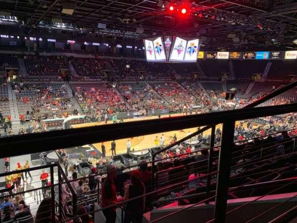 Mandalay Bay Events Center, vak: 205, rij: E, stoel: 2