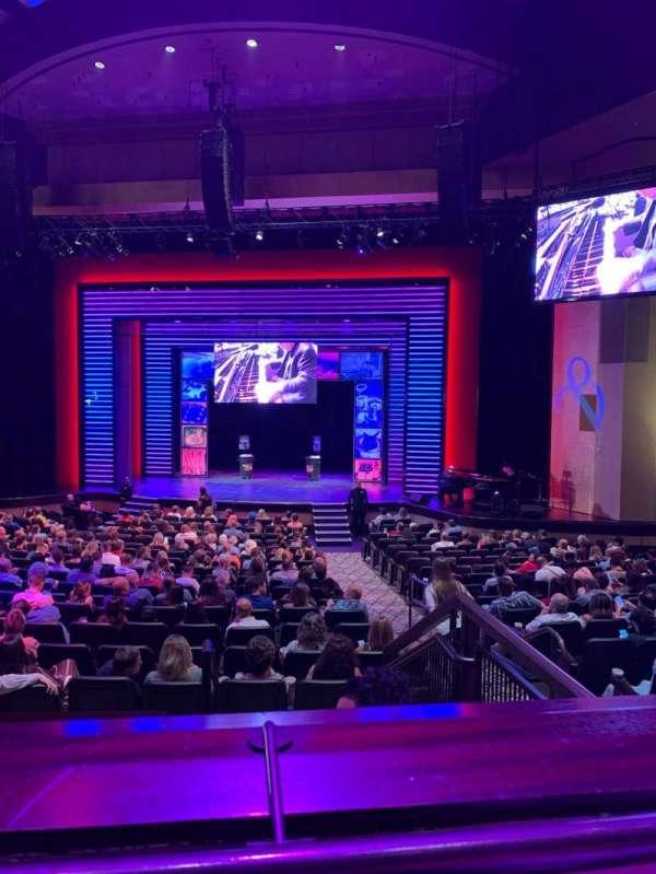 Penn & Teller Theater, vak: 5, rij: AA