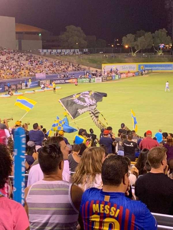 Cashman Field, vak: Spectator, rij: GA, stoel: GA
