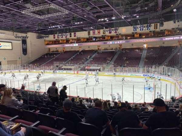 Orleans Arena, vak: 114, rij: M, stoel: 8