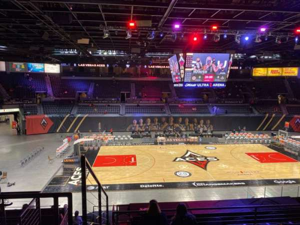 Michelob Ultra Arena, vak: 206, rij: G, stoel: 7