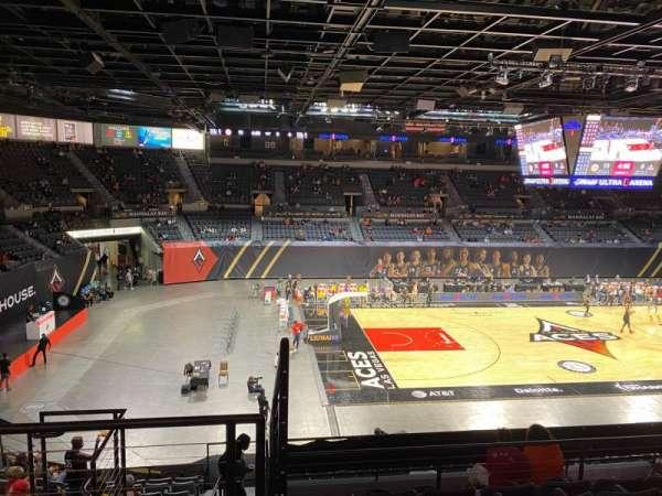 Michelob Ultra Arena, vak: 205, rij: G, stoel: 6