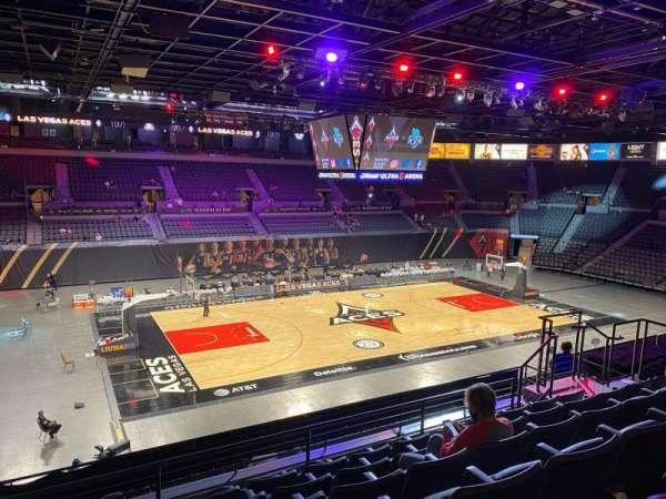 Michelob Ultra Arena, vak: 205, rij: G, stoel: 8