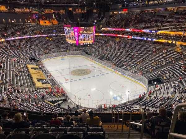T-Mobile Arena, vak: 211, rij: J, stoel: 17