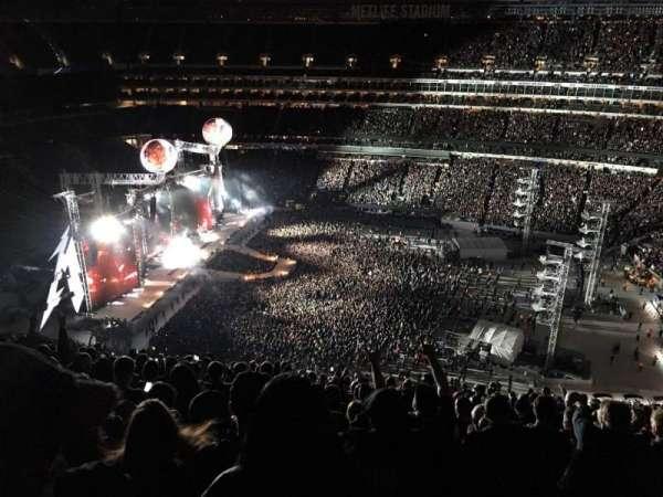 MetLife Stadium, vak: 337, rij: 26, stoel: 14