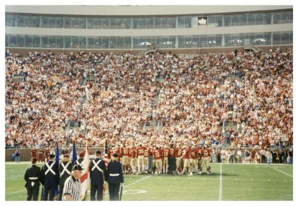 Bobby Bowden Field at Doak Campbell Stadium, vak: 10, rij: 1, stoel: WC