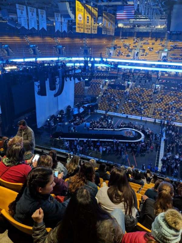 TD Garden, vak: BAL316, rij: 13, stoel: 13