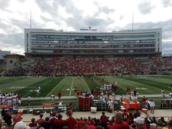 Maryland Stadium, vak: 5, rij: T, stoel: 7
