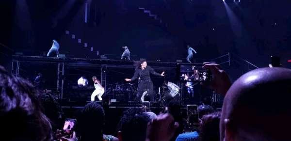 Blaisdell Arena, vak: BB, rij: 5, stoel: 10