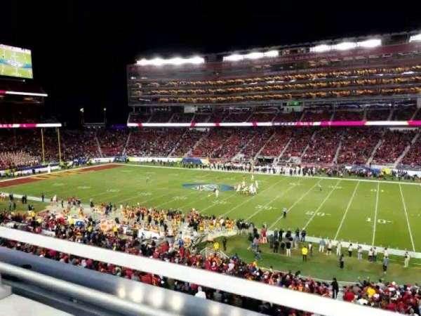 Levi's Stadium, vak: C212, rij: 1, stoel: 7