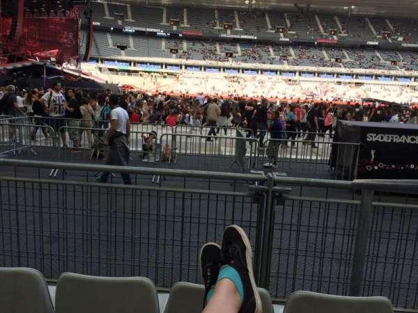 Stade De France, vak: S7, rij: 3 (front row, stoel: 18