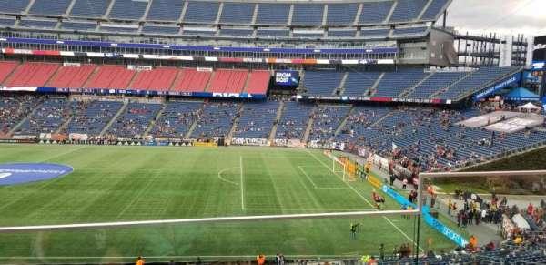 Gillette Stadium, vak: CL7, rij: 2, stoel: 2