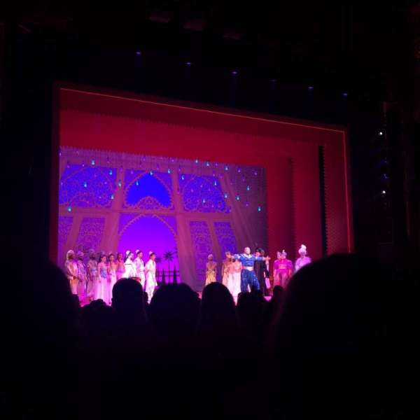 Boston Opera House, vak: orchestra left, rij: L, stoel: 23