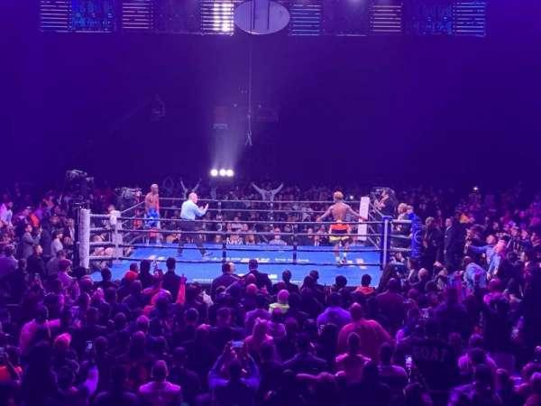 Toyota Arena, vak: 109, rij: H, stoel: 19