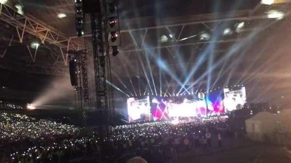 Wembley Stadium, vak: 113, rij: 14, stoel: 32