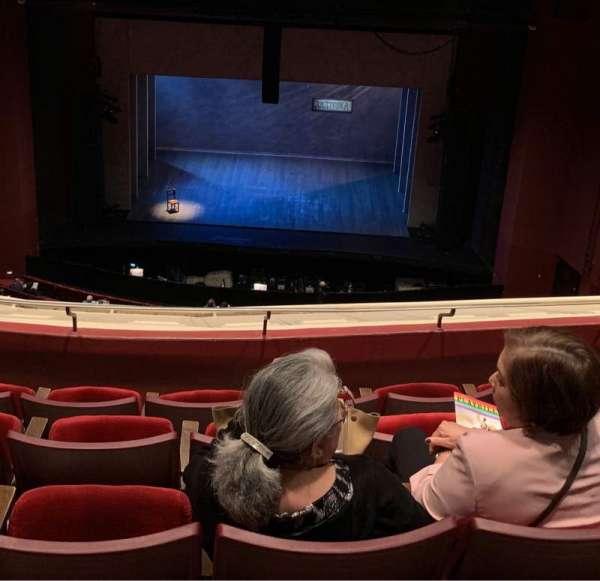 San Diego Civic Theatre, vak: BALCR1, rij: T, stoel: 6