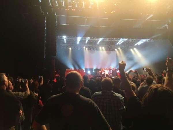 Hard Rock Rocksino Northfield Park , vak: 2, rij: P, stoel: 1