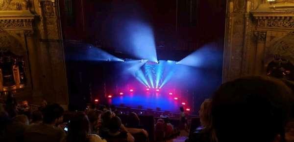 Chicago Theatre, vak: Balcony3R, rij: L, stoel: 202