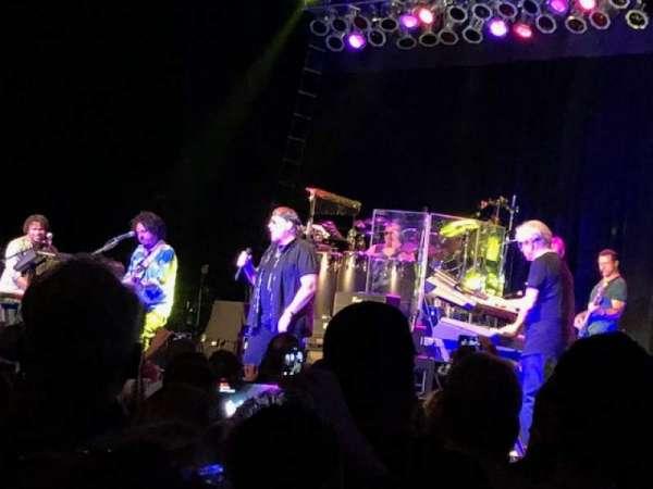 Hard Rock Rocksino Northfield Park, vak: 3, rij: H, stoel: 12