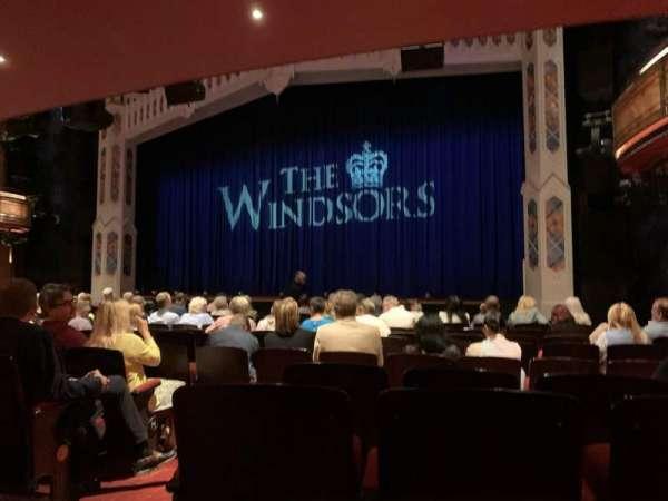 Princess of Wales Theatre, vak: Stalls, rij: M, stoel: 11