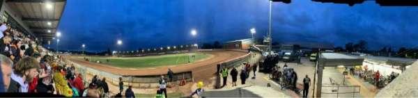 National Speedway Stadium, Belle Vue, Manchester, vak: A, rij: C, stoel: 1