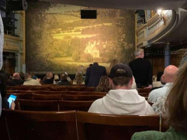 Harold Pinter Theatre, vak: Stalls, rij: O, stoel: 4