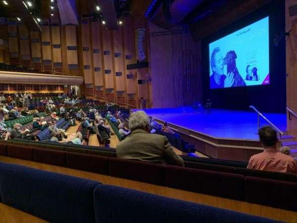 Barbican Theatre, vak: Minus 1, rij: P, stoel: 1
