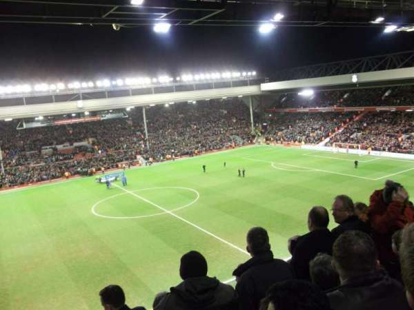 Anfield, vak: CE7 (now Kenny Dalglish stand), rij: 11, stoel: 178