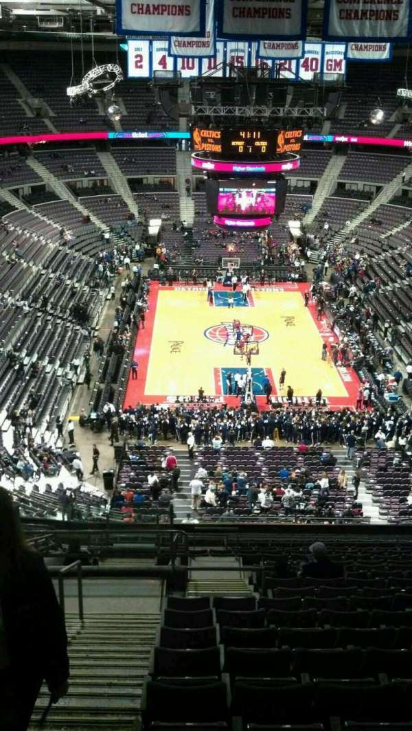 The Palace of Auburn Hills, vak: 223, rij: 19, stoel: 022