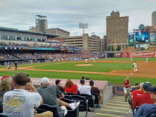 Fifth Third Field, vak: 116, rij: N, stoel: 21b