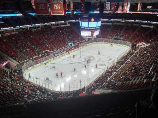 PNC Arena, vak: 330, rij: F, stoel: 9