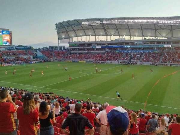 Rio Tinto Stadium, vak: 36, rij: Z, stoel: 5