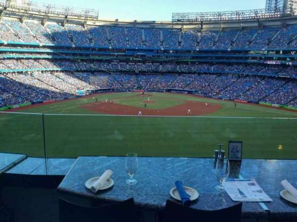 Rogers Centre, vak: SL, rij: B, stoel: 36