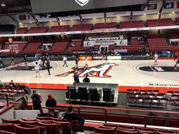 Matthews Arena, vak: 7, rij: J, stoel: 9