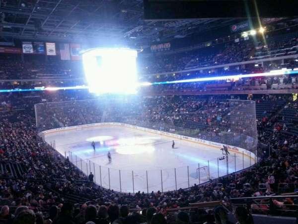 Nationwide Arena, vak: 122, rij: LL, stoel: 8