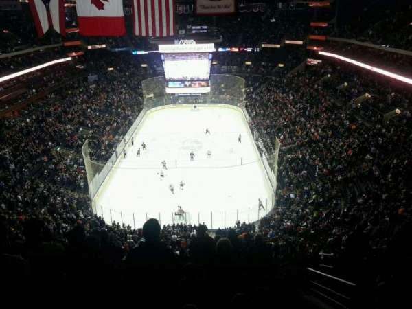 Nationwide Arena, vak: 210, rij: L, stoel: 2