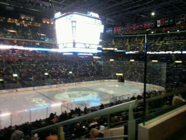 Nationwide Arena, vak: 106, rij: Y, stoel: 8