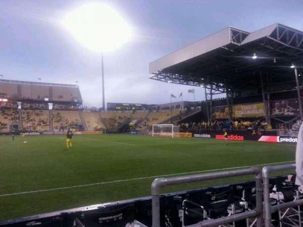 Mapfre Stadium, vak: 104, rij: 2, stoel: 10