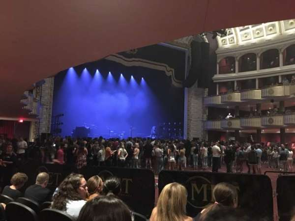The Met Philadelphia, vak: Orchestra 9, rij: E, stoel: 6