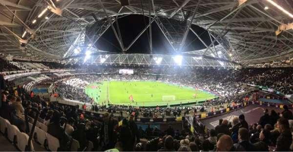 London Stadium, vak: 219, rij: 51, stoel: 83