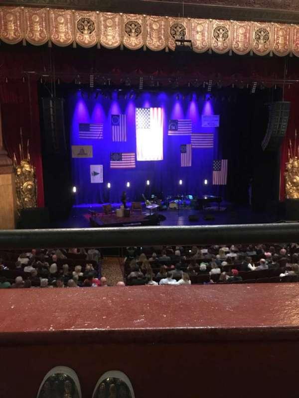 Beacon Theatre, vak: LOGE 1, rij: A, stoel: 3