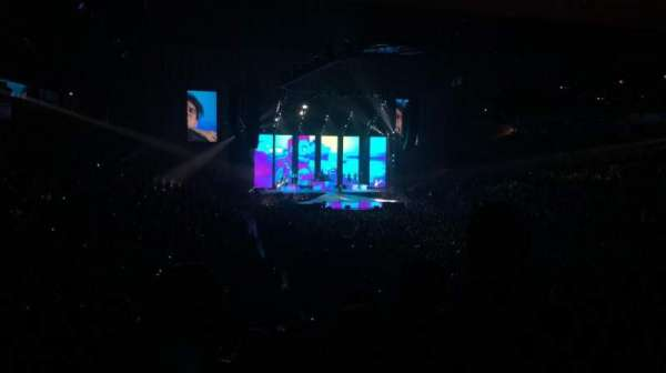 Royal Farms Arena, vak: 225, rij: L, stoel: 9