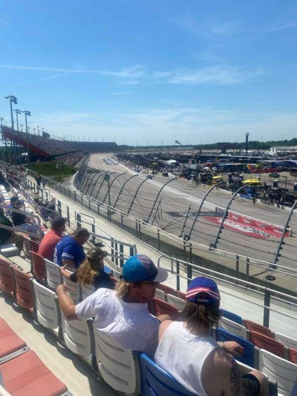 Darlington Raceway, vak: J, rij: 8, stoel: 12