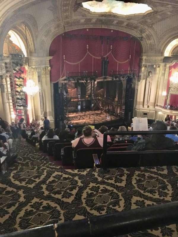 Boston Opera House, vak: BALLFT, rij: P, stoel: 43