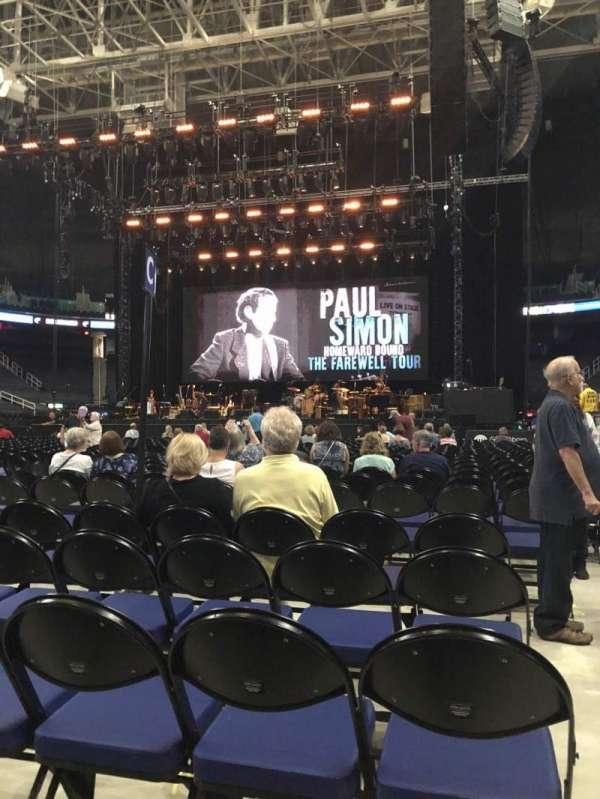 Greensboro Coliseum, vak: Floor C, rij: 25, stoel: 12